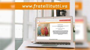 "Vaticano lanza página web dedicada a la encíclica ""Fratelli Tutti"""