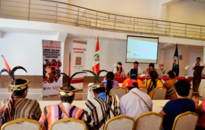 """Indígenas fortalecen sus capacidades socioambientales en proyecto """"Ecología integral en la Selva Peruana"""""""