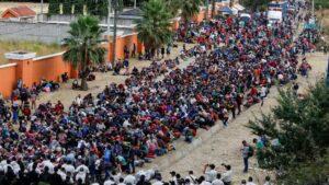 Guatemala: Primera caravana de migrantes del 2021 intenta cruzar para llegar a México y Estados Unidos