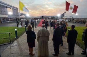 Se cumplen 3 años de la visita de Francisco al Perú