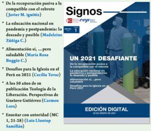 Revista Signos: Un 2021 desafiante