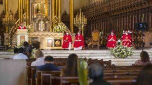 """Monseñor Castillo en Domingo de Ramos: """"Jesús es Palabra de aliento para nuestro pueblo abatido"""""""