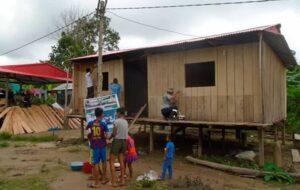 Yurimaguas: Reubican a más de 80 familias indígenas afectadas en sismo del 2019