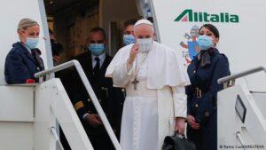Papa Francisco culmina su histórica visita a Irak
