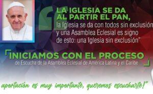 Inicia el Proceso de Escucha de la Asamblea Eclesial de América Latina y El Caribe