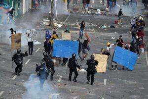 FOSPA Perú exige intervención de organismos internacionales ante represión civil en Colombia
