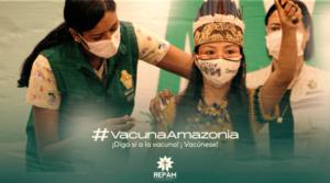 La Repam lanza campaña 'Vacuna Amazonía' para salvar vidas