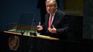 """Secretario General de la ONU sobre el clima: """"Estamos al borde del abismo, actuemos ya"""""""