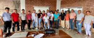 Aucayacu: Autoridades comunales del Alto Huallaga comparten experiencias para cuidar la Casa Común