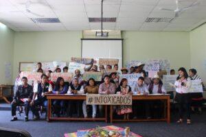 Afectados por metales tóxicos llegan a Lima para exigir al gobierno de Castillo atención de salud integral